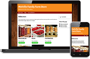 farm-store website example