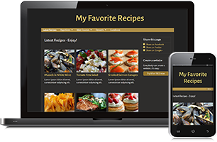 recipe website example